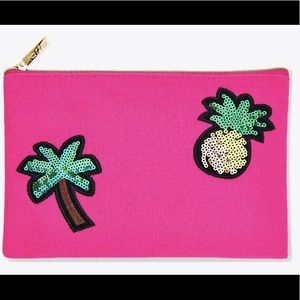 Tarte Pineapple & Palm Tree Cosmetic Bag